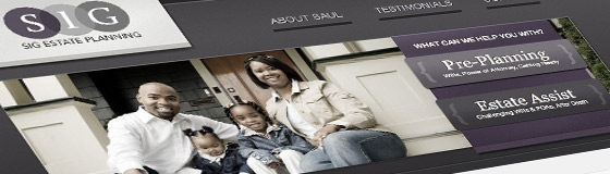 SIG Estate Planning - Law Office Website Design