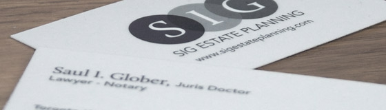 SIG Estate Planning - Logo/Branding & Print Design