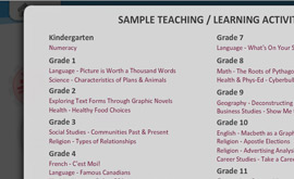 21st Century Learning - Teaching and Learning Samples