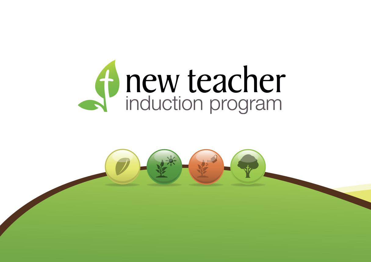 New teacher induction program branding amp print design impulse