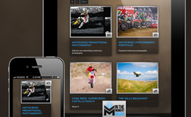 In The Moment Media - Responsive Design compatible with mobile devices like iPads & iPhones
