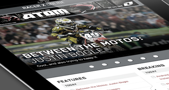 Racer X Mobile - Mobile Website Design