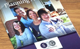 SIG Estate Planning Brochure - Cover