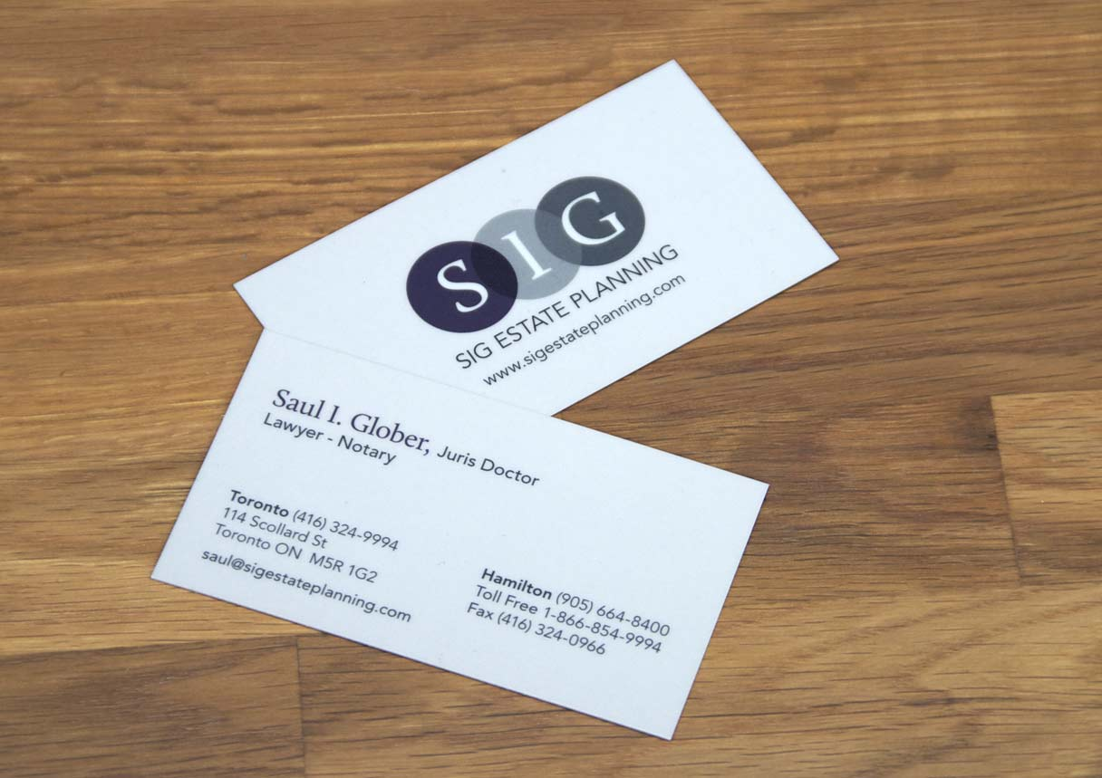SIG Estate Planning - Logo/Branding & Print Design - Impulse Studios